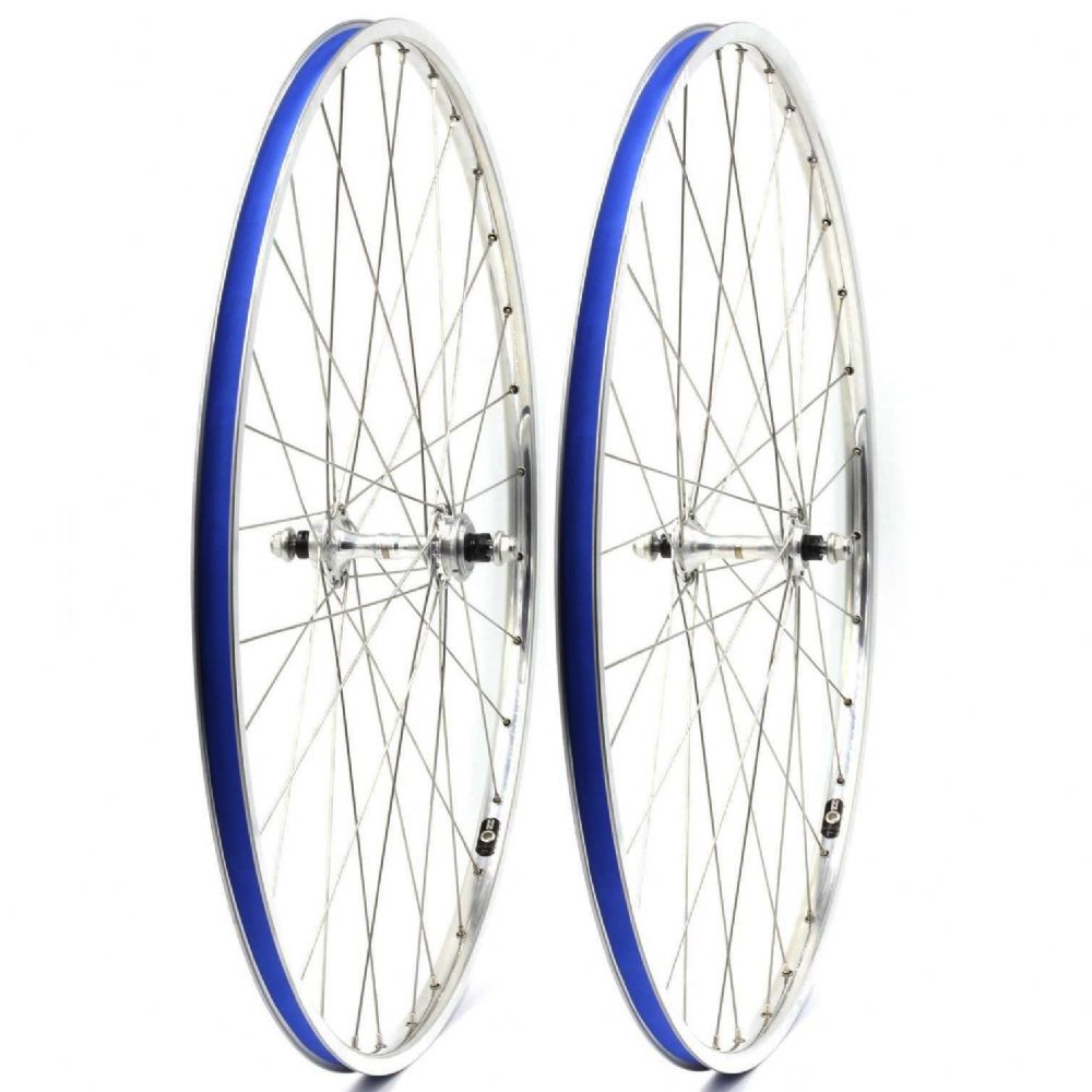 Handbuilt Track Wheelset: Campagnolo Record Pista/H+Son TB14
